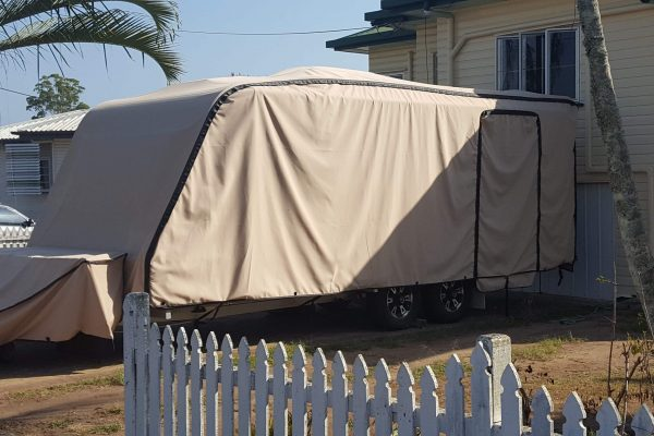 Suncover for Caravan