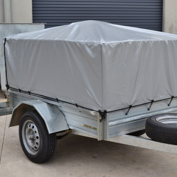 Made to Order Cage Trailer Covers Bunji Loop style