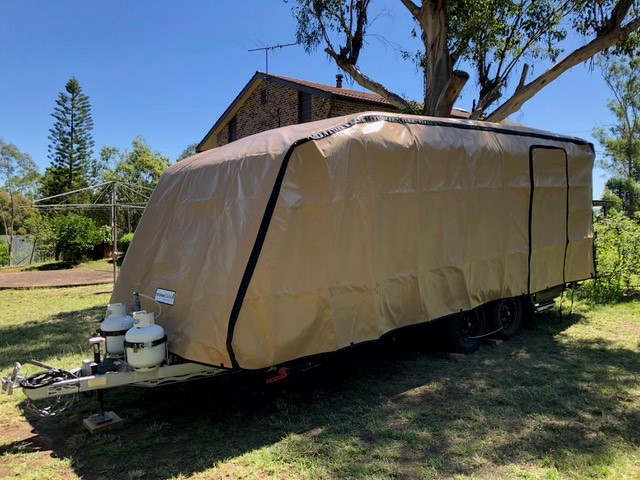 Why a custom made caravan cover will protect your Jayco Caravan.