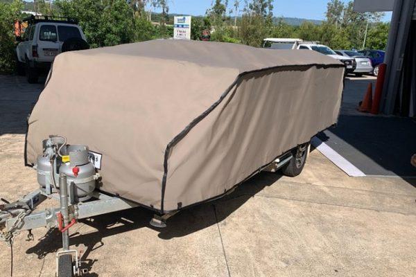 Image of Suncover for Avan Cruiseliner Pop Up Camper