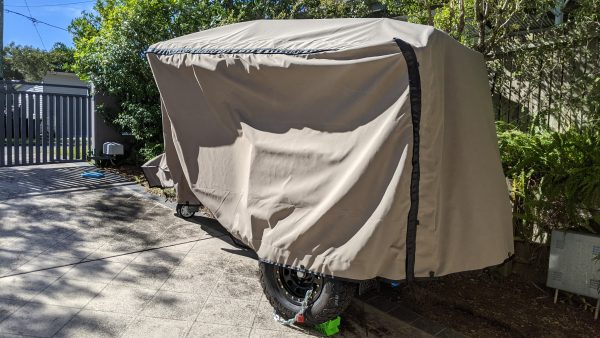Picture of Suncover for Exceed Camper Trailer